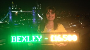 Alina with Bexley sign
