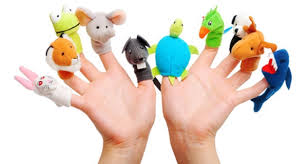 Hand with toys