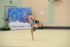 Lily Hughes ball balance